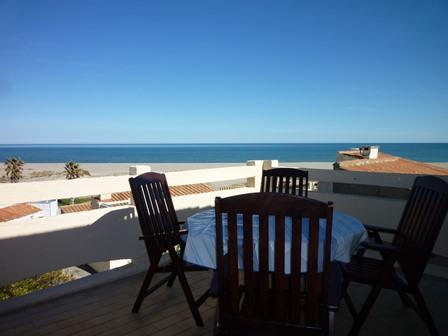 Port leucate villa t2 duplex sublime vue mer agence du soleil location immobili re port - Agence immobiliere port leucate ...