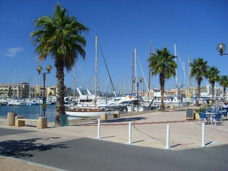 Port leucate appart t2 vue lat rale lac marin rdc agence du soleil location immobili re - Agence du port port leucate ...