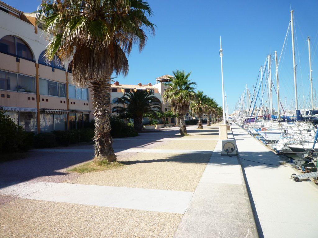 Port leucate appart t3 rdc de plain pied pkg agence du soleil location immobili re port - Agence du port port leucate ...